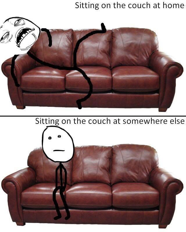 Sitting on #Couch http://ibeebz.com | Humor | Pinterest | Laughter ...