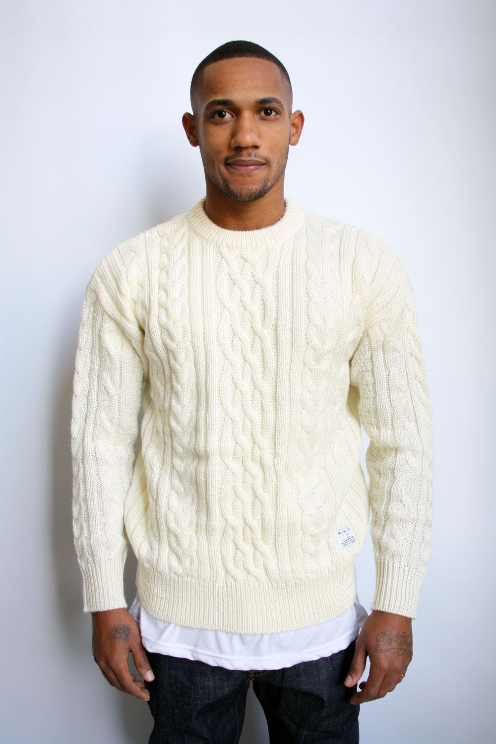 MKI Cable Knit Sweater, £65 | Fashion Ideas | Pinterest | Cable ...