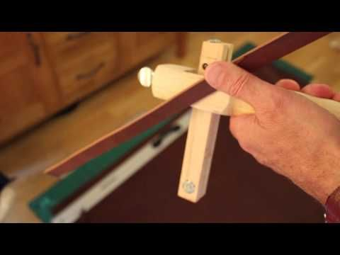 Economical Leather Belt and Strap Cutting by Hand. - YouTube