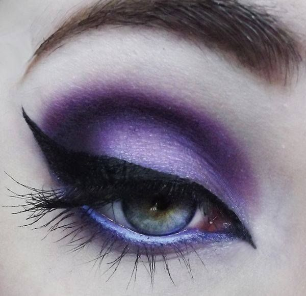 Mai #lila #smink / Today #purple #makeup