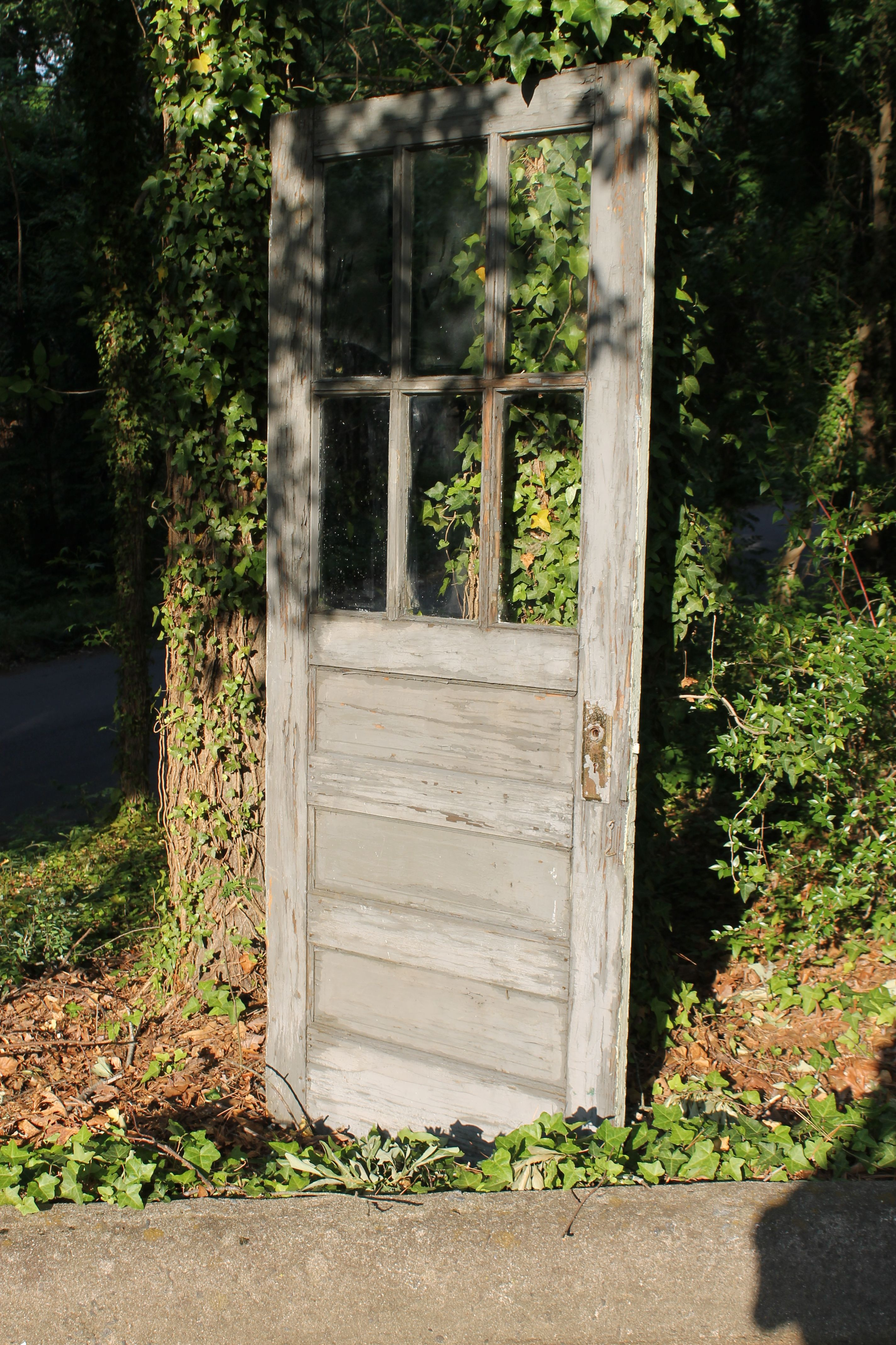 Gray chippy paint vintage door perfect for rustic wedding backdrop wedding rental Southern Vintage & Gray chippy paint vintage door perfect for rustic wedding backdrop ...
