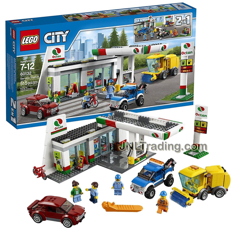BRAND NEW  *RARE* TOWN 60132 CITY SERVICE STATION LEGO CITY