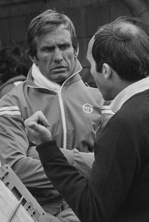 Carlos Reutemann with Frank Williams