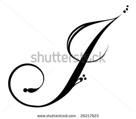 Letter J Letras Tatuajes Iniciales Letras Para Tatuajes Letra J
