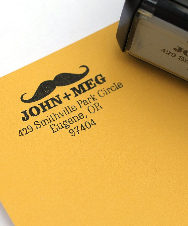Look what I found on #zulily! Mr. Mustache Personalized Self-Inking Stamp by 2712 Designs #zulilyfinds