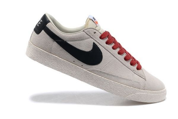 2018 sneakers discount shop quality products Low Suede Vintage Nike Blazer Homme Baskets Wolf Gris Noir ...