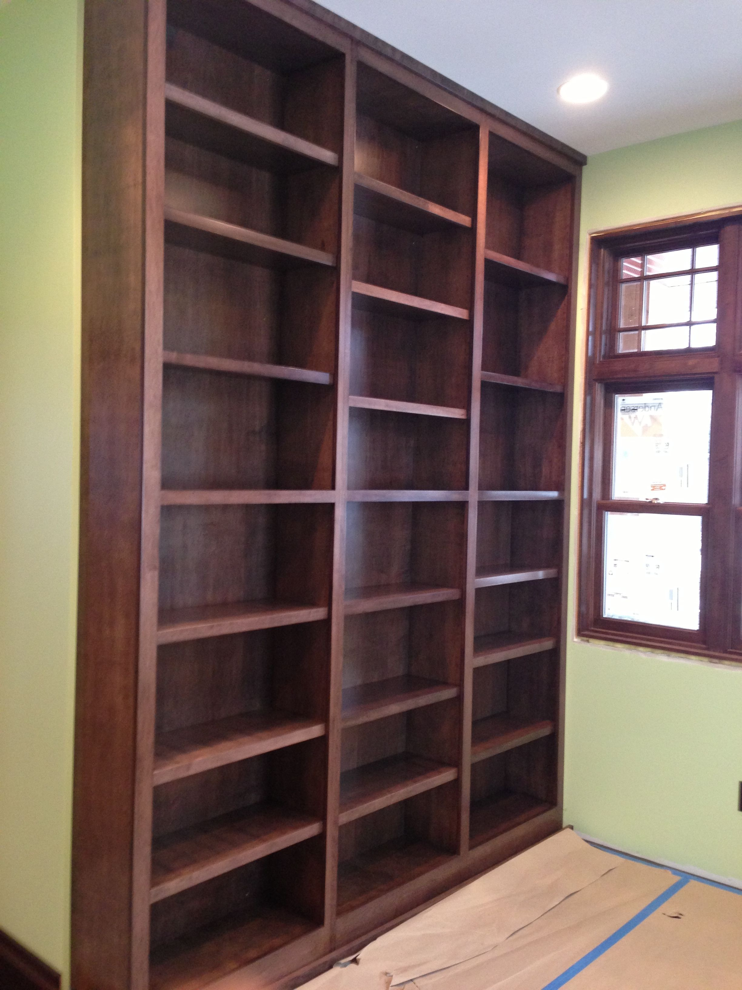 Delightful Built In Shelving W/ Lifespan Closets Systems