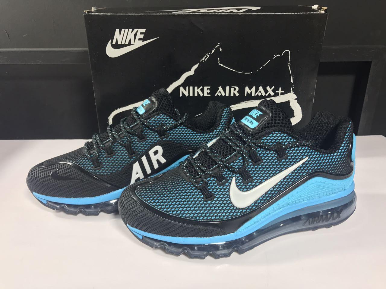 82fba0c19c5b Men s Nike Air Max 2018 Elite KPU TPU Shoes Black Jade