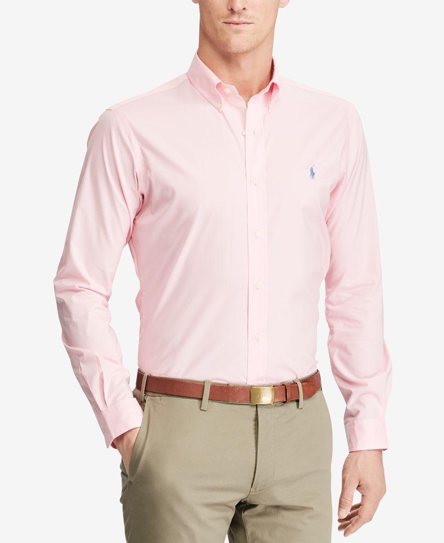 POLO Ralph Lauren Mens Standard Fit Cotton Shirt