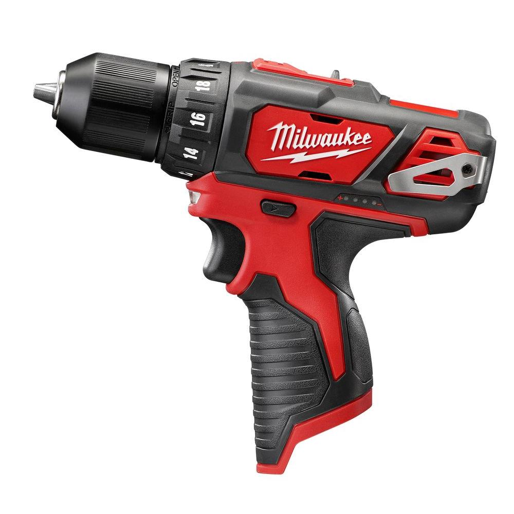 Milwaukee M12 12 Volt Lithium Ion Cordless 3 8 In Drill Driver Tool Only 2407 20 Drill Driver Milwaukee Tools Milwaukee M12