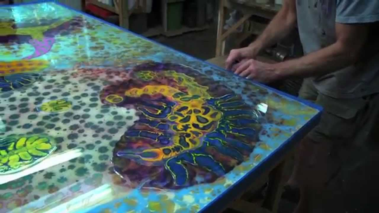 how to make psychedelic paintings