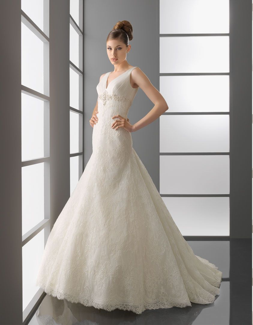 Aire barcelona bridal gown style palermo wedding dress ideas