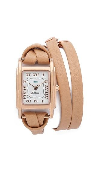 #lamercollections Milwood Leather Wrap Watch
