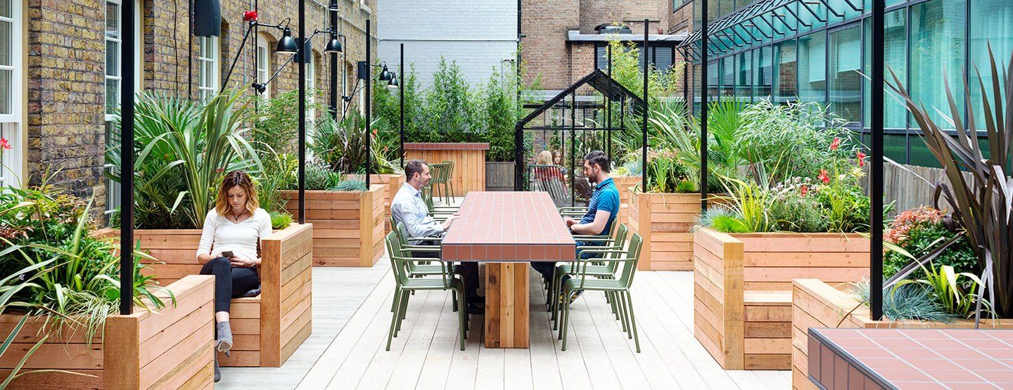 Wimpole Street Office Spaces Meeting Rooms In Marylebone Outdoor Office Outdoor Meeting Space Outdoor Terrace Furniture