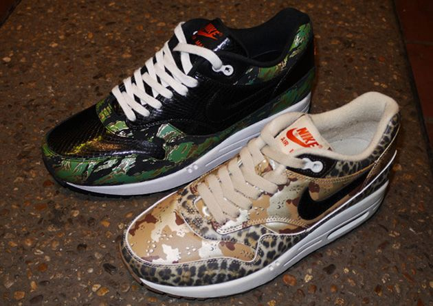 the best attitude 98679 bb9f8 Nike Air Max 1 ATMOS – Animal+Camouflage Pack