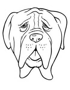 Worksheet. Dibujos de perros para colorear para nios  Imagen de Perros