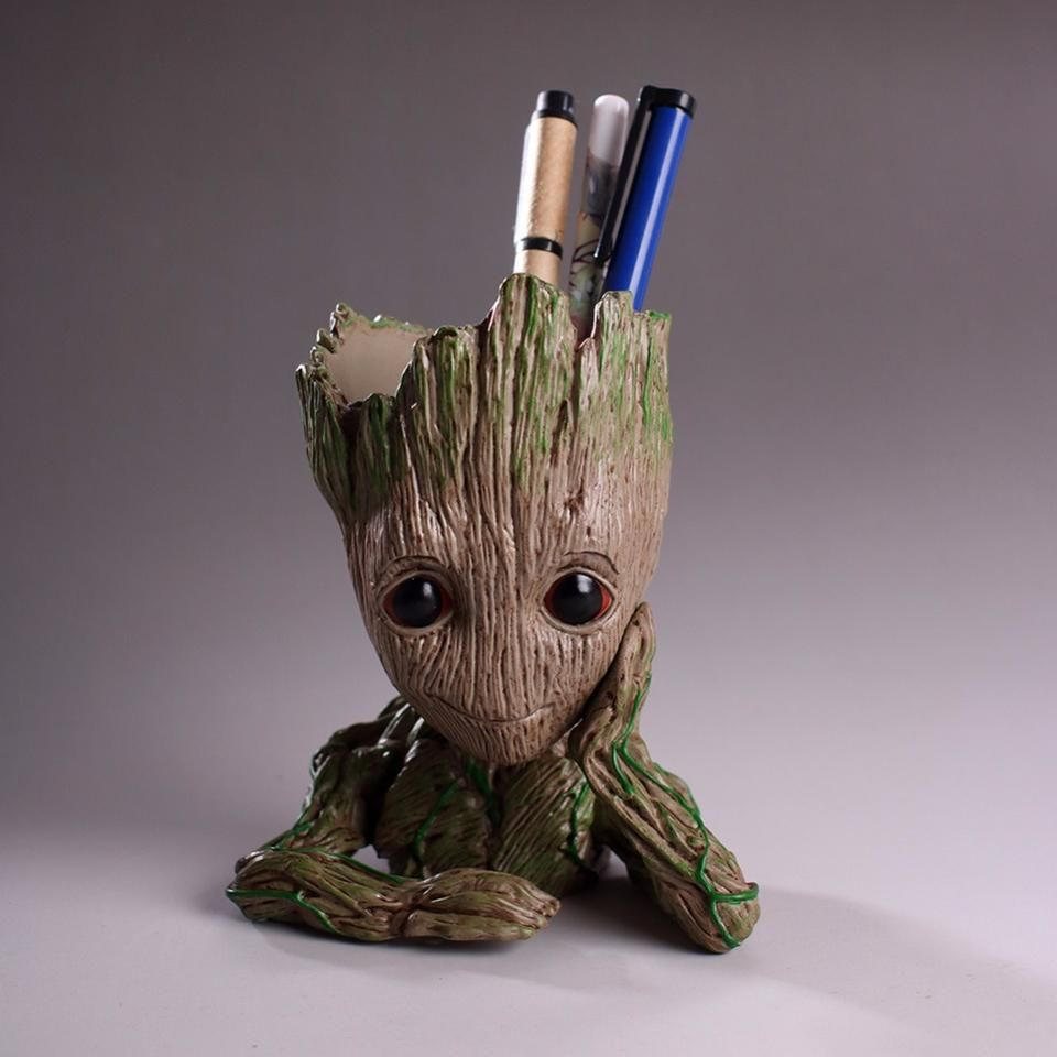 New Marvel Guardians of the Galaxy Baby Groot Flower Pot Type 2