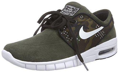 Nike  STEFAN JANOSKI MAX L, Sneakers Basses adulte mixte - Vert - Grün (310 SEQUOIA/WHITE-BLACK), 40 Nike http://www.amazon.fr/dp/B016GZKMHI/ref=cm_sw_r_pi_dp_P4SGwb12V3HJF