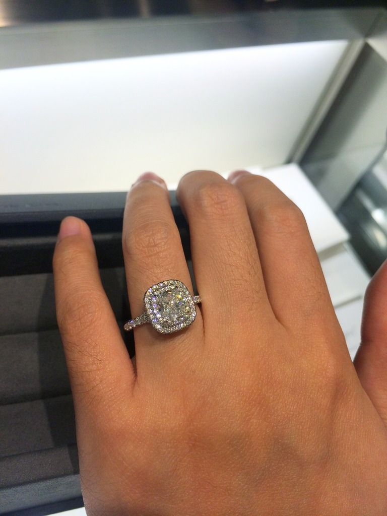 Please Help Re Tiffany Soleste Heart Wedding Rings Tiffany Engagement Ring Small Rings Engagement