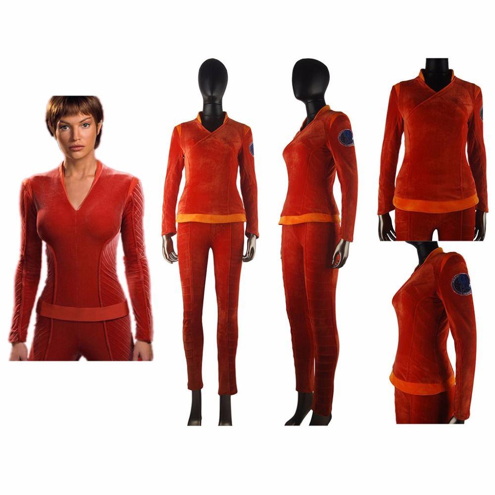 Click to Buy << Star Trek Enterprise Commander T\'Pol Uniform Outfit ...