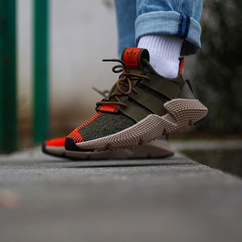release date daa5c 84a55 Adidas Prophere «Olive Solar-Red» CQ2127 Size chart 40 to 45 (
