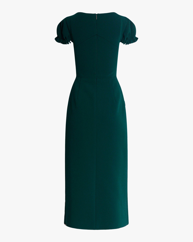 Compact Crepe Structured Midi Dress In 2021 Dresses Elegant Dress Midi Dress [ 2813 x 2250 Pixel ]