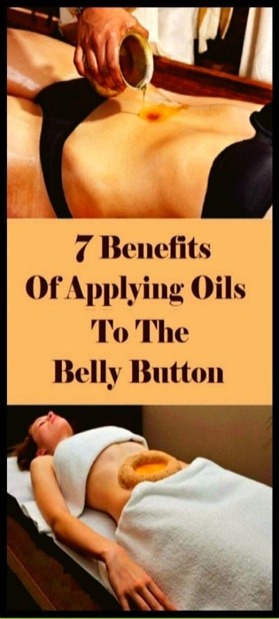 7 Benefits Of Applying Oil To The Belly Button!!!!