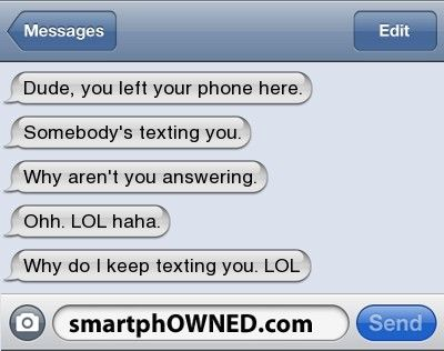 hah id totally do that