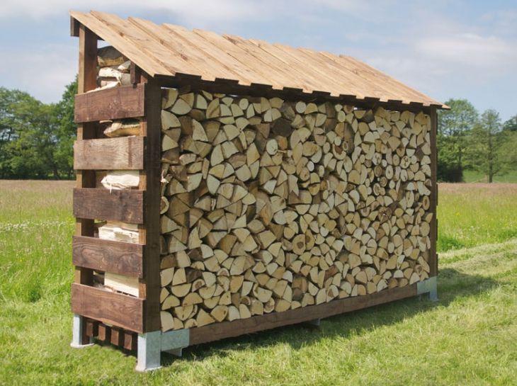 single log store large clearview stoves giardini 2018 pinterest brennholz holz. Black Bedroom Furniture Sets. Home Design Ideas