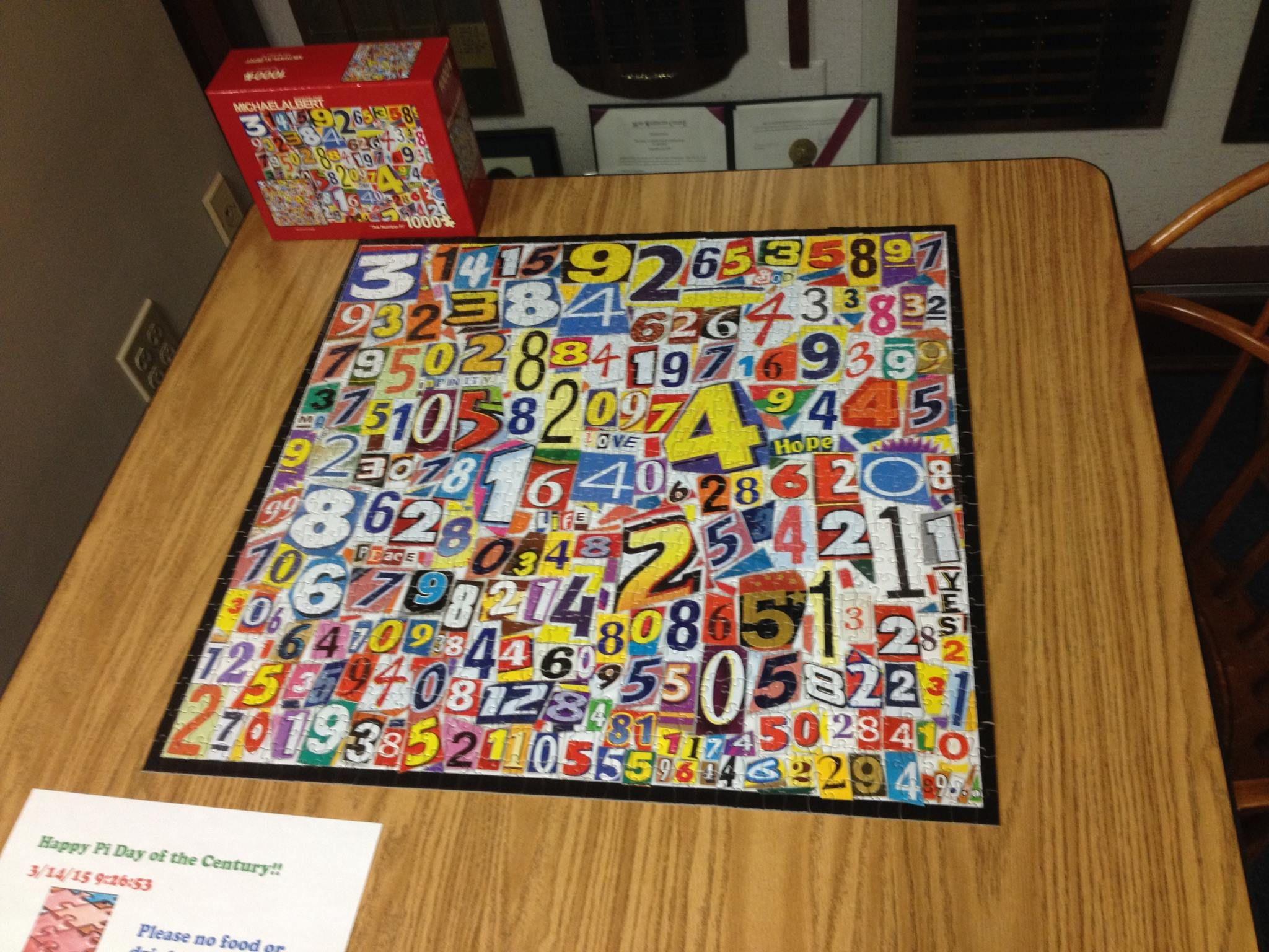 Puzzle Of Pi