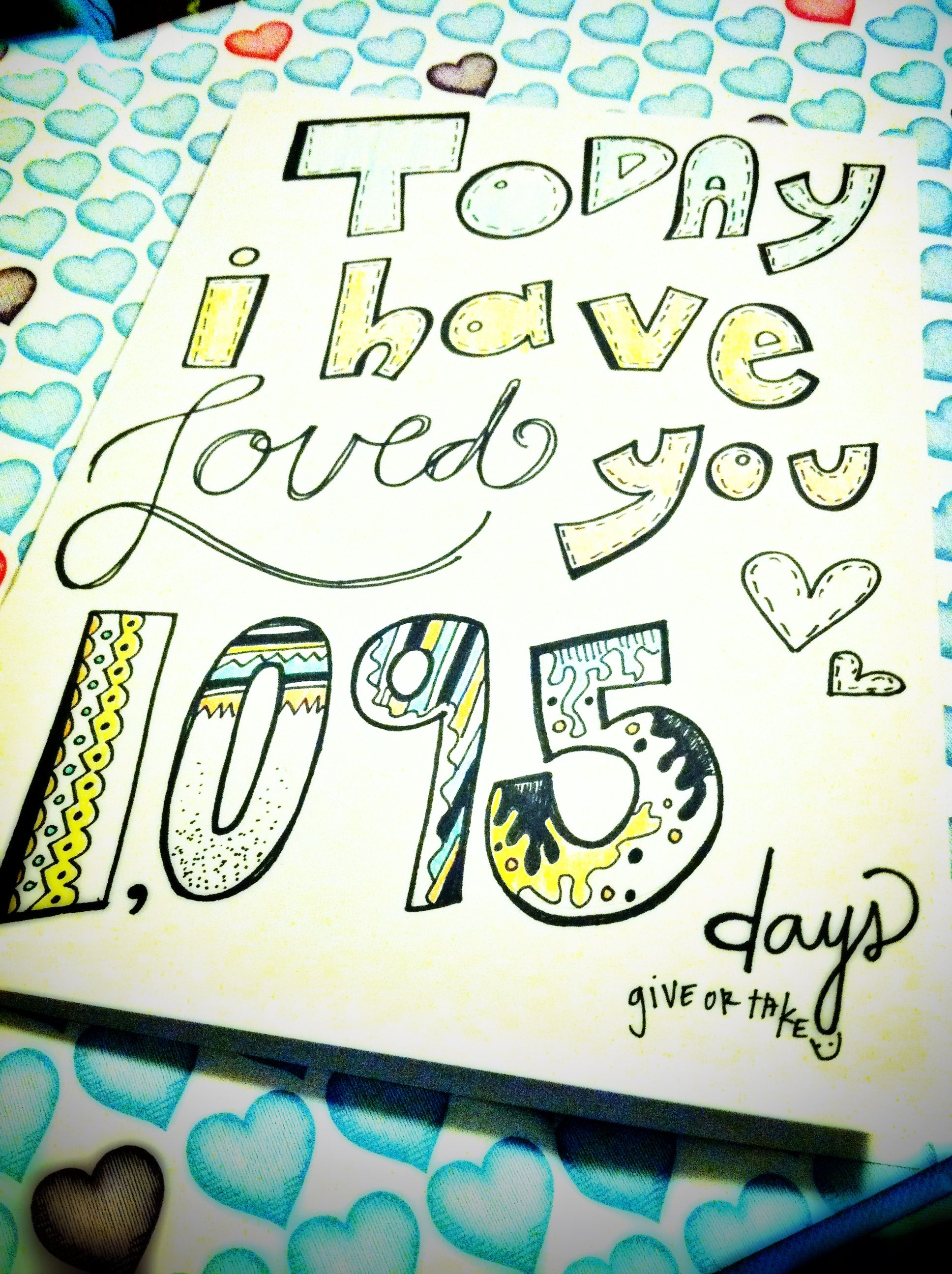 On 11 05 13 Of The Day We Met Our Number Will Be 1 883 Days