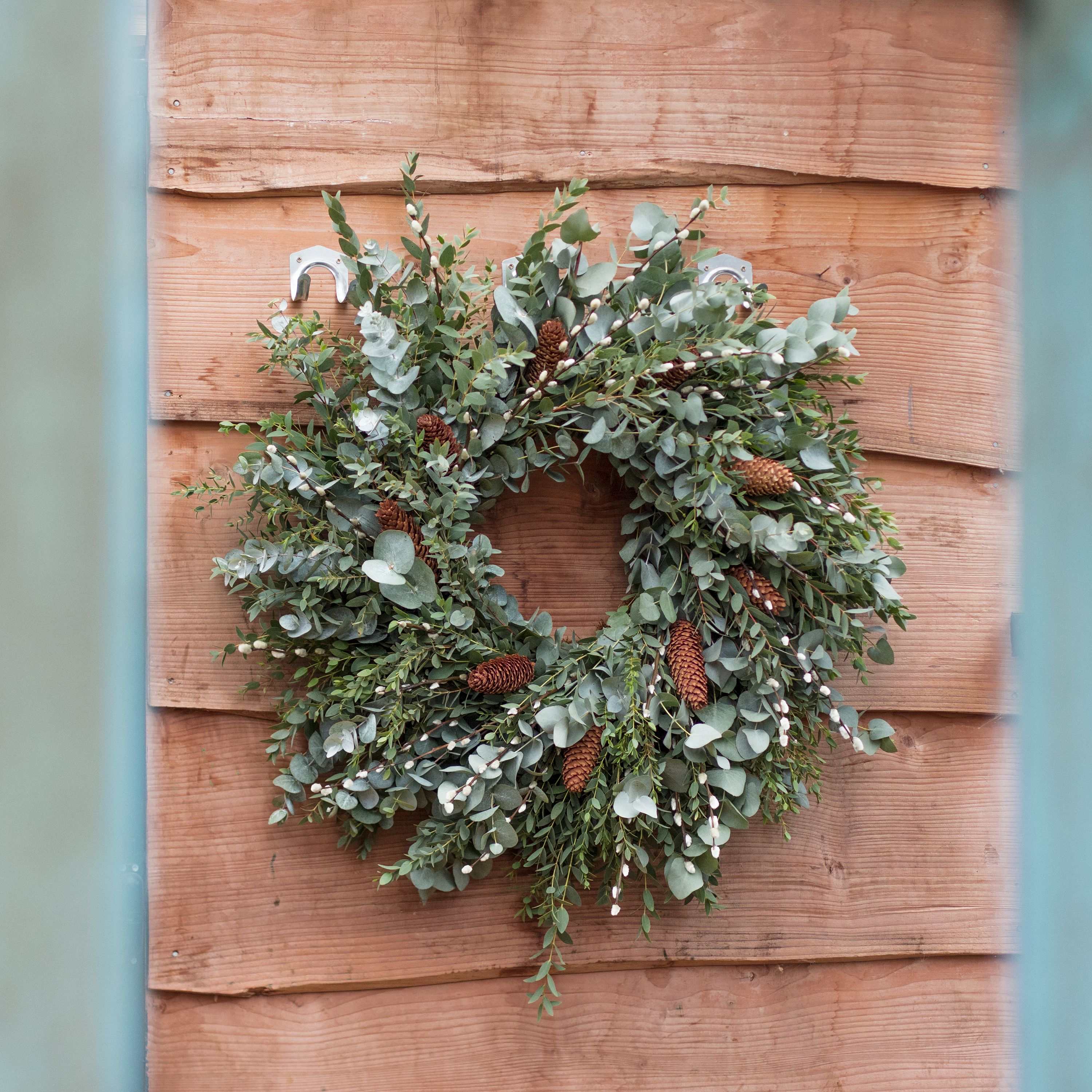Hand Tied Festive Wreaths Are Available Online And In Our Richmond And Covent Garden Stores Over The Christmas Period Christmas Wreaths Garden Shop Wreaths
