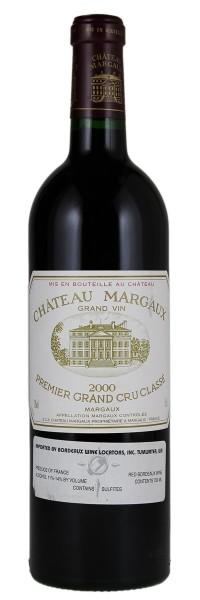 2000 Margaux. Type: Red Wine, Bordeaux Red Blends (Claret), Premier Cru (First Growth), 750ml. Region: France, Bordeaux, Margaux. 710$ (17.750 Kc)