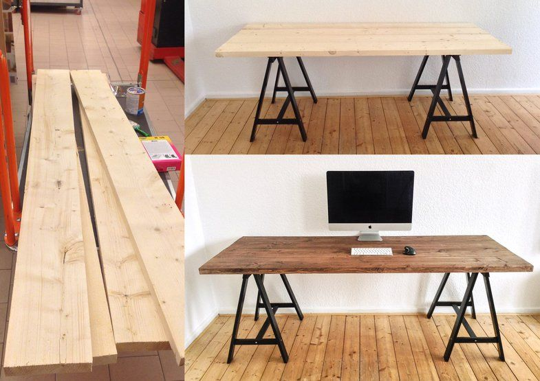 diy schreibtisch id es pour la maison pinterest desks interiors and room. Black Bedroom Furniture Sets. Home Design Ideas