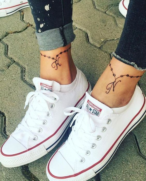 Tiny And Small Ankle Tattoos For Girls -  Cute Small Besties Ankle tattoo #Small... - Tiny And Small Ankle Tattoos For Girls –  Cute Small Besties Ankle tattoo #Small #Ankle #tattoos   - #Ankle #Besties #coupletattoo #Cute #girls #musictattoo #Small #Tattoo #tattoofemininas #tattoogirl #tattoosketches #Tattoos #Tiny