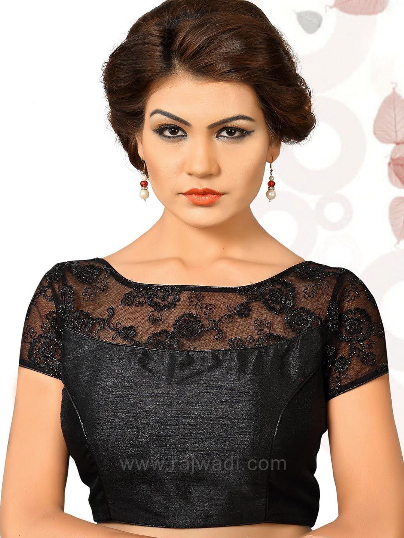 52520520fffa1 Black color Silk fabric Readymade Blouse  rajwadi  designercholionline   Indianblouses  Readycholiforsaree  Readymadeblouseonline
