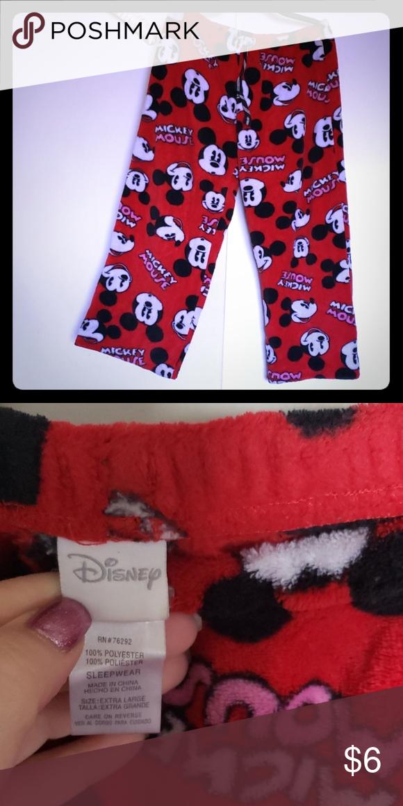 7cda09b73e31a Disney pajama bottoms Womans Disney pajama bottoms. Worn once, too short  for me. Disney Intimates & Sleepwear Pajamas
