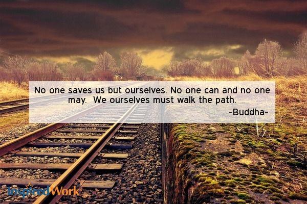InspiredWork Quote by Buddha