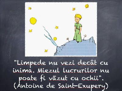 10 Citate Minunate Pentru Tine Din Micul Prinţ De Antoine De Saint Exupery Note To Self Instagram Inspiration The Little Prince