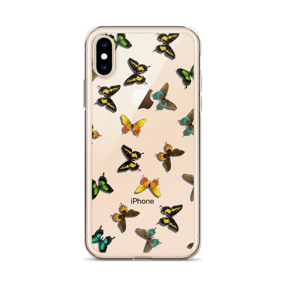 Butterfly Iphone 11 Case Clear Iphone 11 Pro Case Aesthetic Etsy In 2020 Iphone Phone Cases Apple Phone Case Glitter Phone Cases