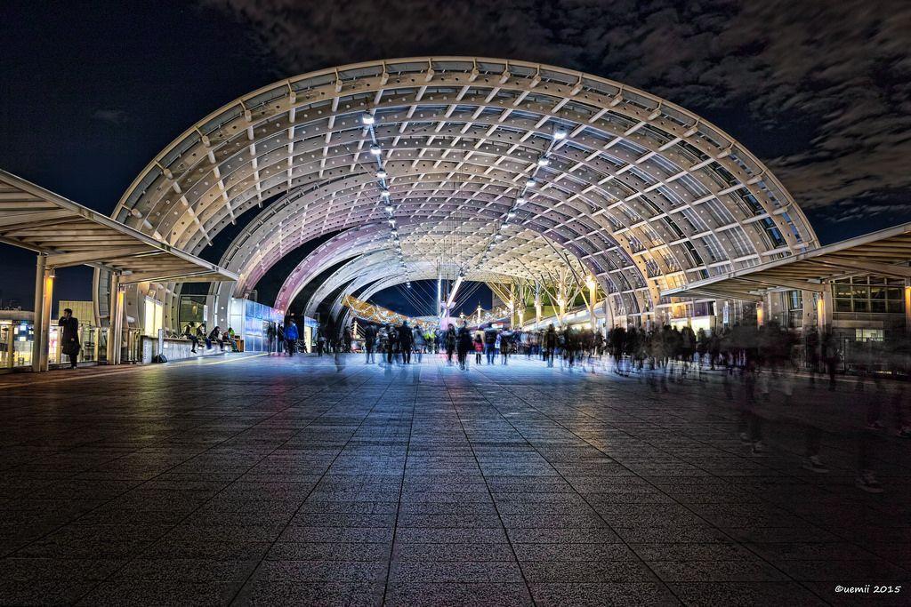 https://flic.kr/p/C2p9HR | Tunnel - トンネル | まるでトンネルのような さいたま新都心駅。鉄骨むき出し構造がとても素敵ですね。  SIGMA DP1 Merrill  #cooljapan #saitama #station