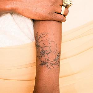 Alstroemeria In 2020 Semi Permanent Tattoo Inkbox Tattoo