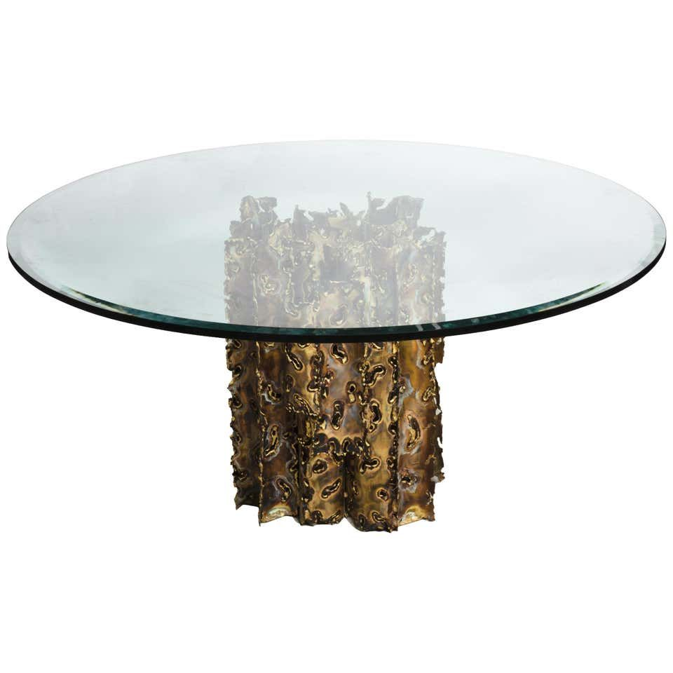 Silas Seandel Mid Century Modern Brutalist Dining Table Cathedral Series Dining Table Stone Dining Table Contemporary Dining Room Tables [ 960 x 960 Pixel ]
