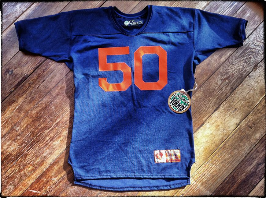super popular d1557 6d27b Vintage Dick Butkus Illinois throwback jersey constructed ...