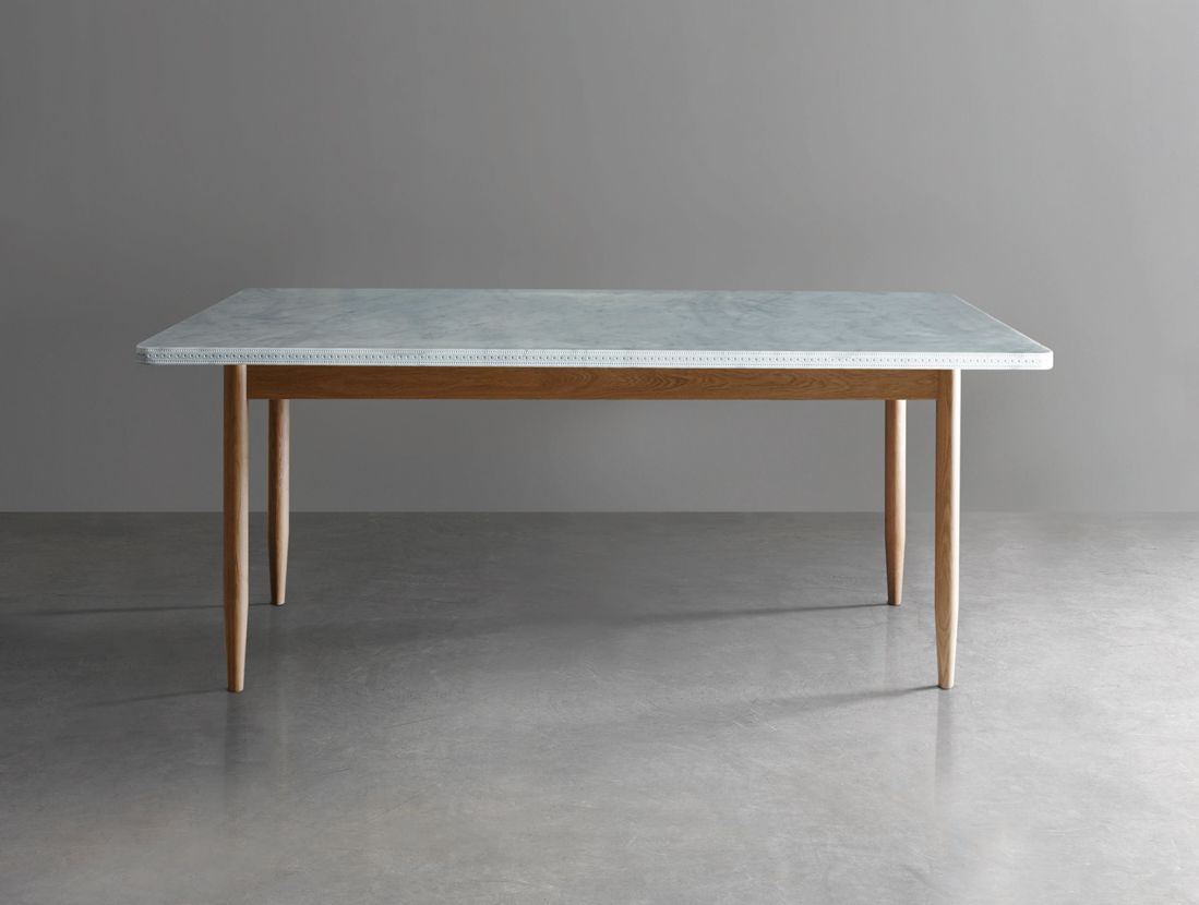 Carve Dining Table Remodelista Marble Top Dining Table Dining