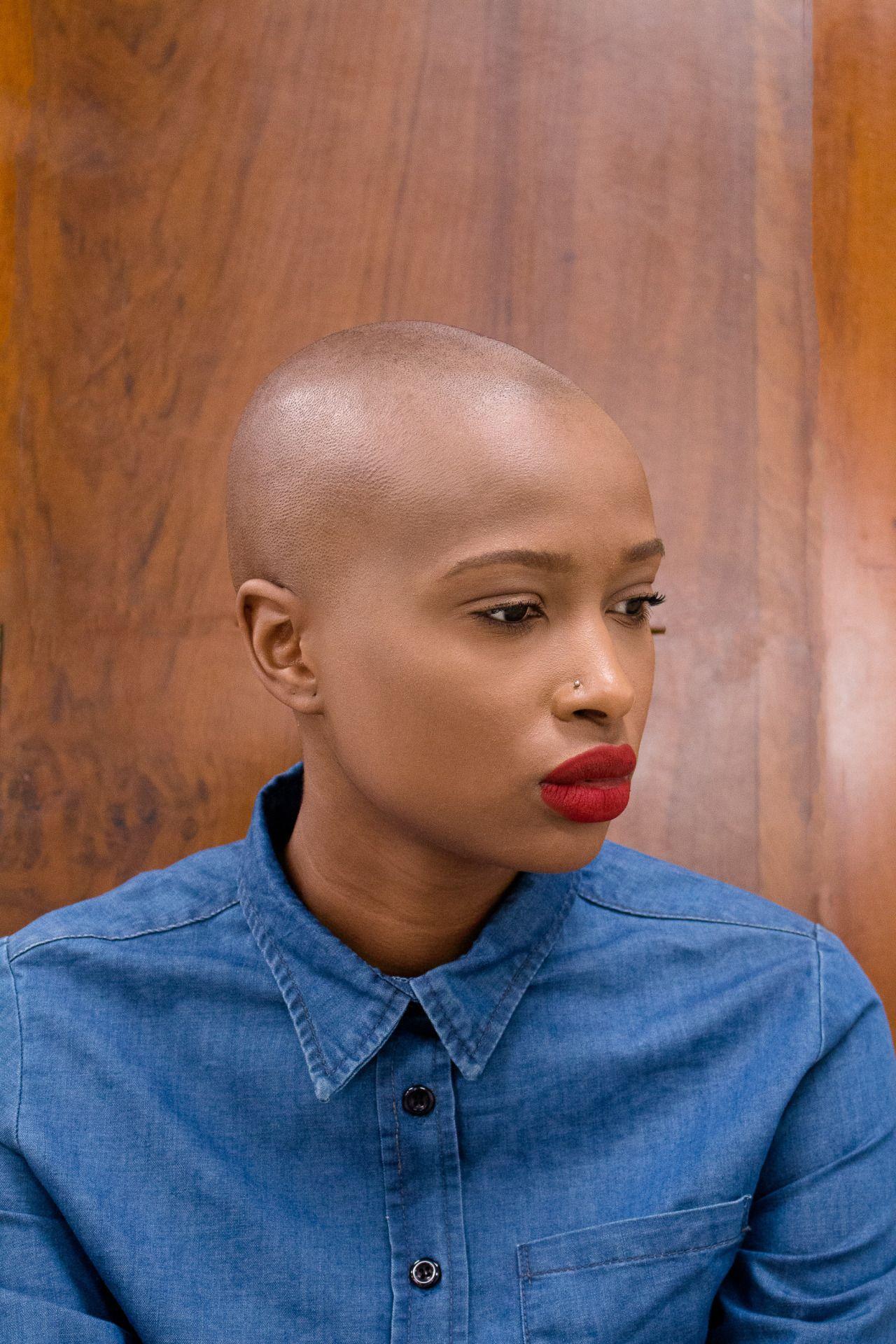 baldblackbeauties | Bald women, Bald girl, Bald head women