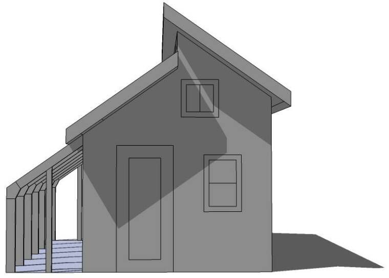Tiny Eco House Plans - by Keith Yost Designs | passive energy ...