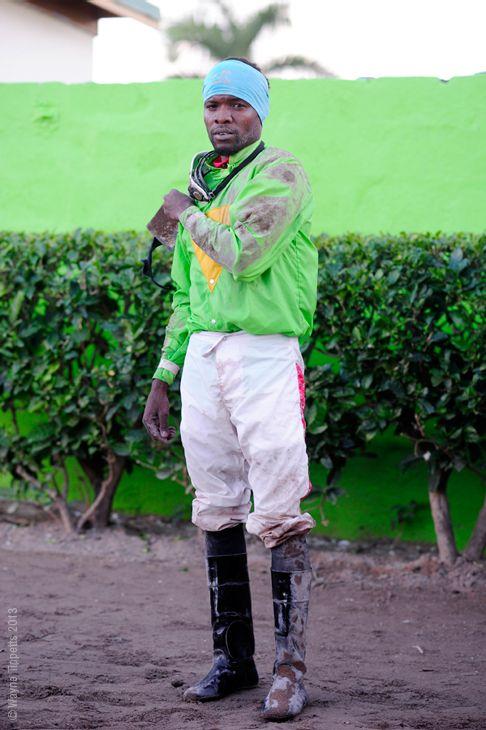Horse Jockey Dane Nelson. #CaymanasTrackLTD