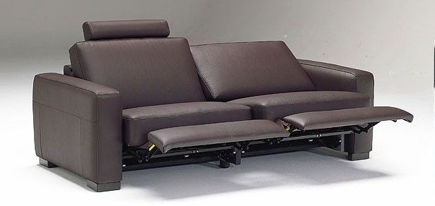 Amazing The Square Arm Hand Crafted Elisa Leather Reclining Sofa Is Download Free Architecture Designs Scobabritishbridgeorg