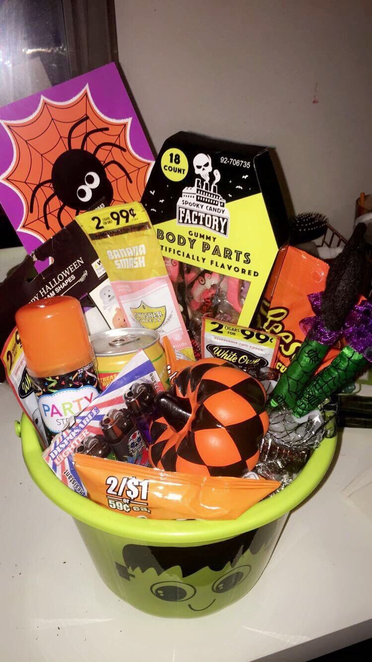 Spooky basket in 2019